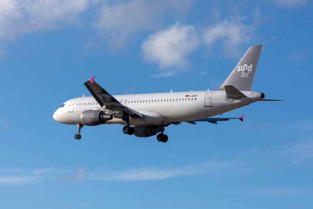 Sundair Airbus A320-214