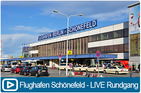YOUTUBE VIDEO - Berlin Airport LIVE Rundgang