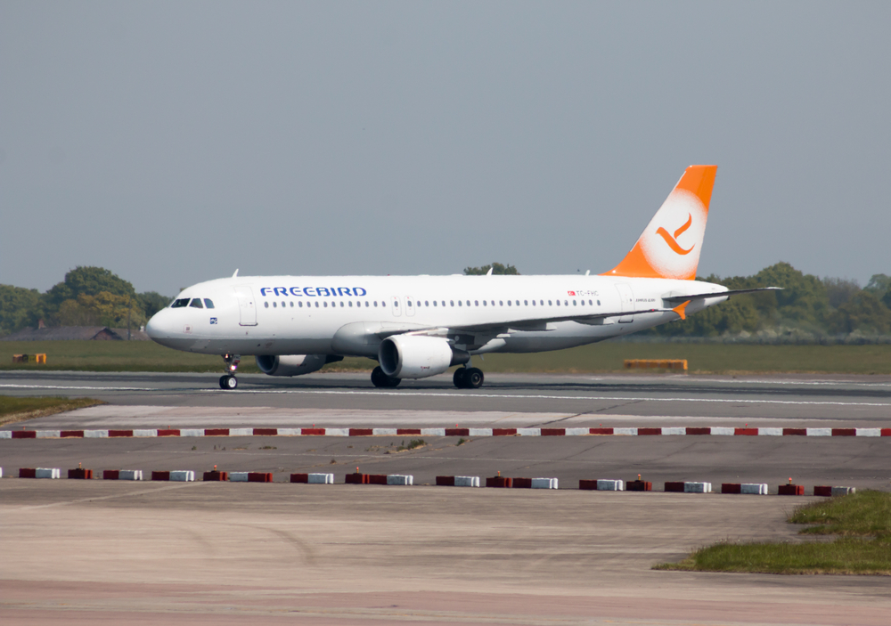 Freebird Airlines Airbus A320